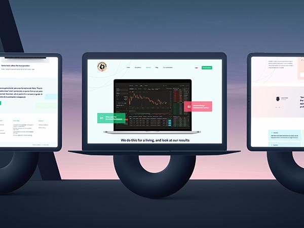 The Investment Boss Responsive Website Mockup
