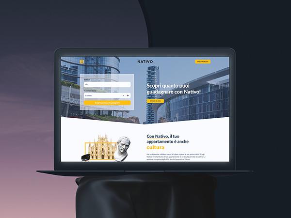 Nativo Stay Responsive Website Mockup