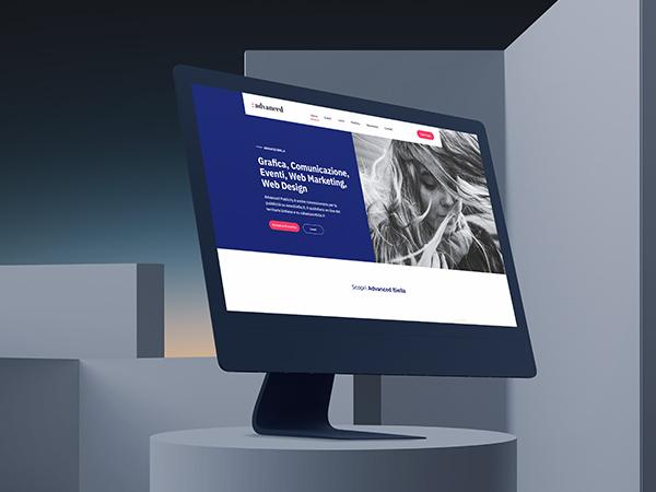 Advanced Biella Responsive Website Mockup