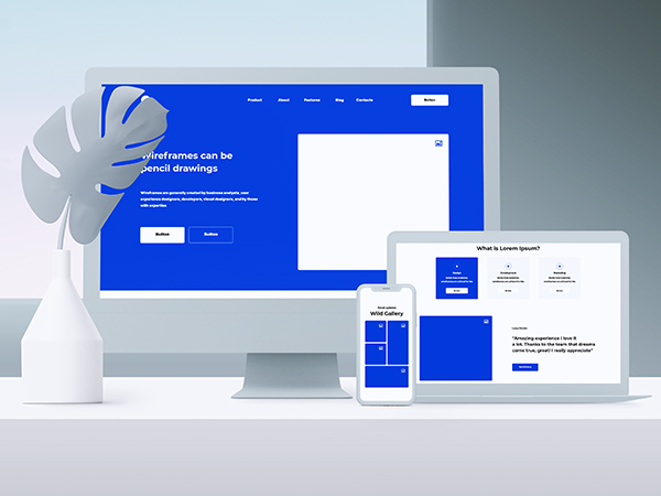 Optimalisatie Website Wireframing and Prototyping