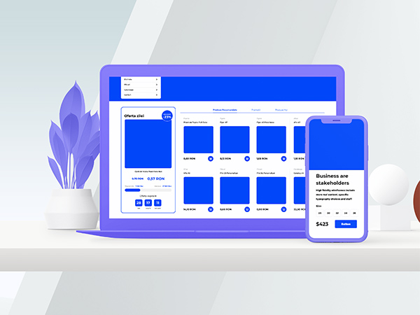 Creatico Website Wireframing and Prototyping