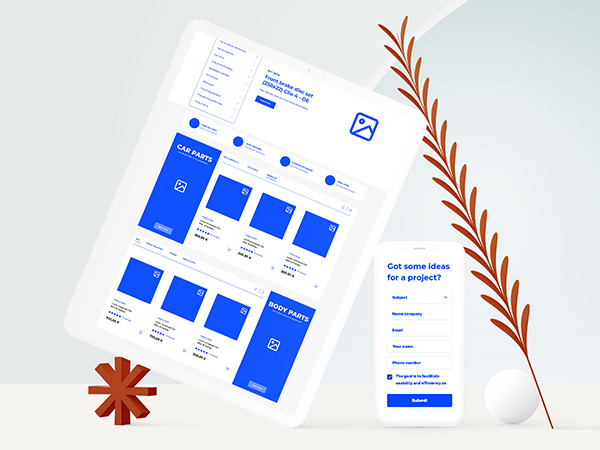 3S Auto Shop Website Wireframing and Prototyping