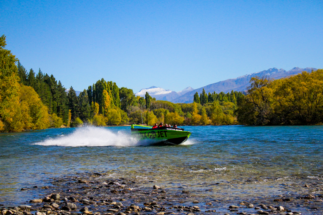 Jet Boating the Clutha River