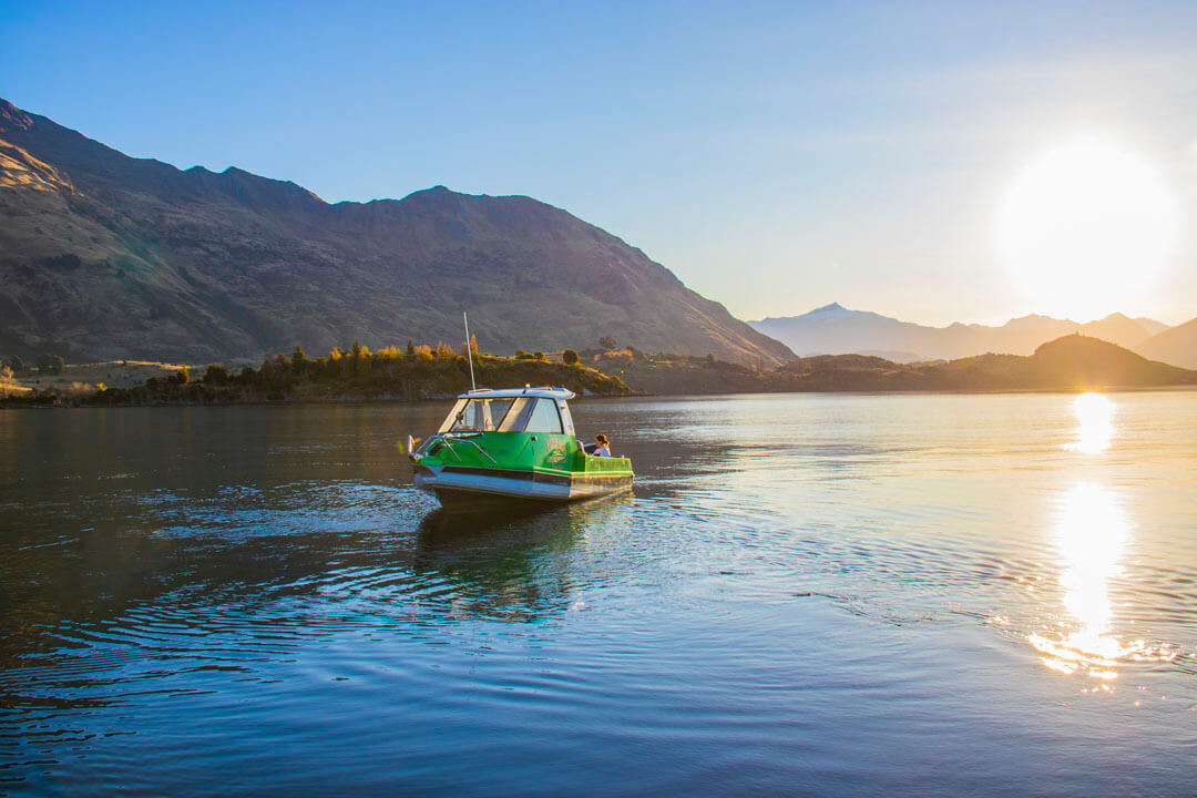 Boat Hire on Lake Wanaka