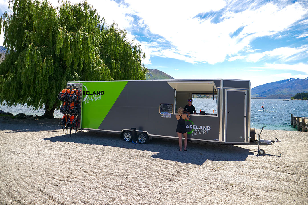Lakeland Wanaka Office Trailer on Wanaka Waterfront