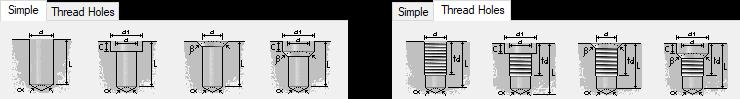 Holes Components