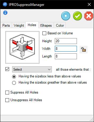 Suppress Small - Holes