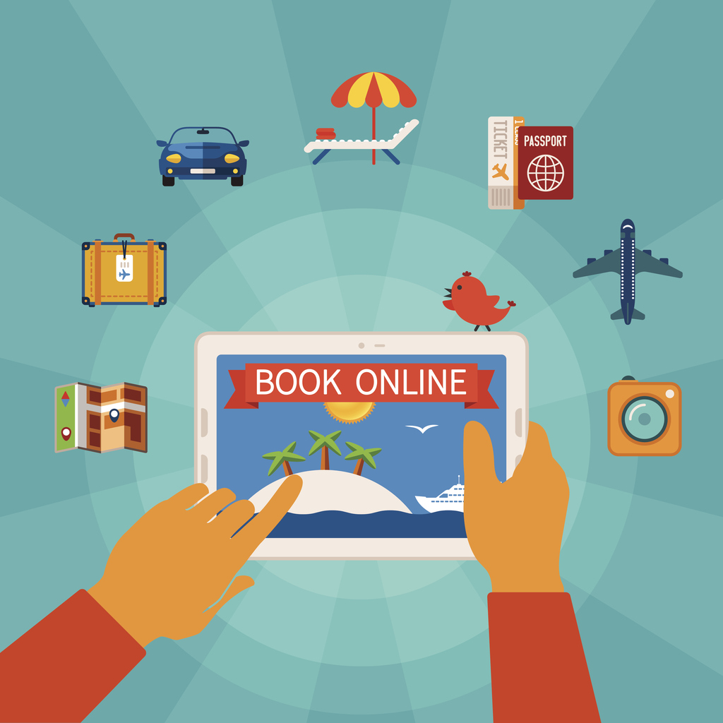 The Creation of the Internet Expanded Online Vacation Rental Bookings