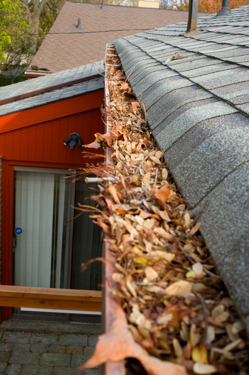 Exterior Checklist: Remove Debris from Gutters for Proper Drainage