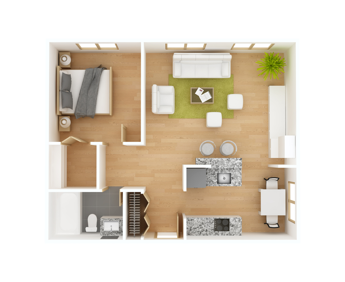 Vacation Rental Floor-plans Offer More Space Than Hotels