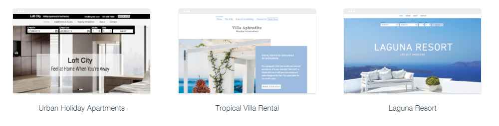 Wix Website Themes