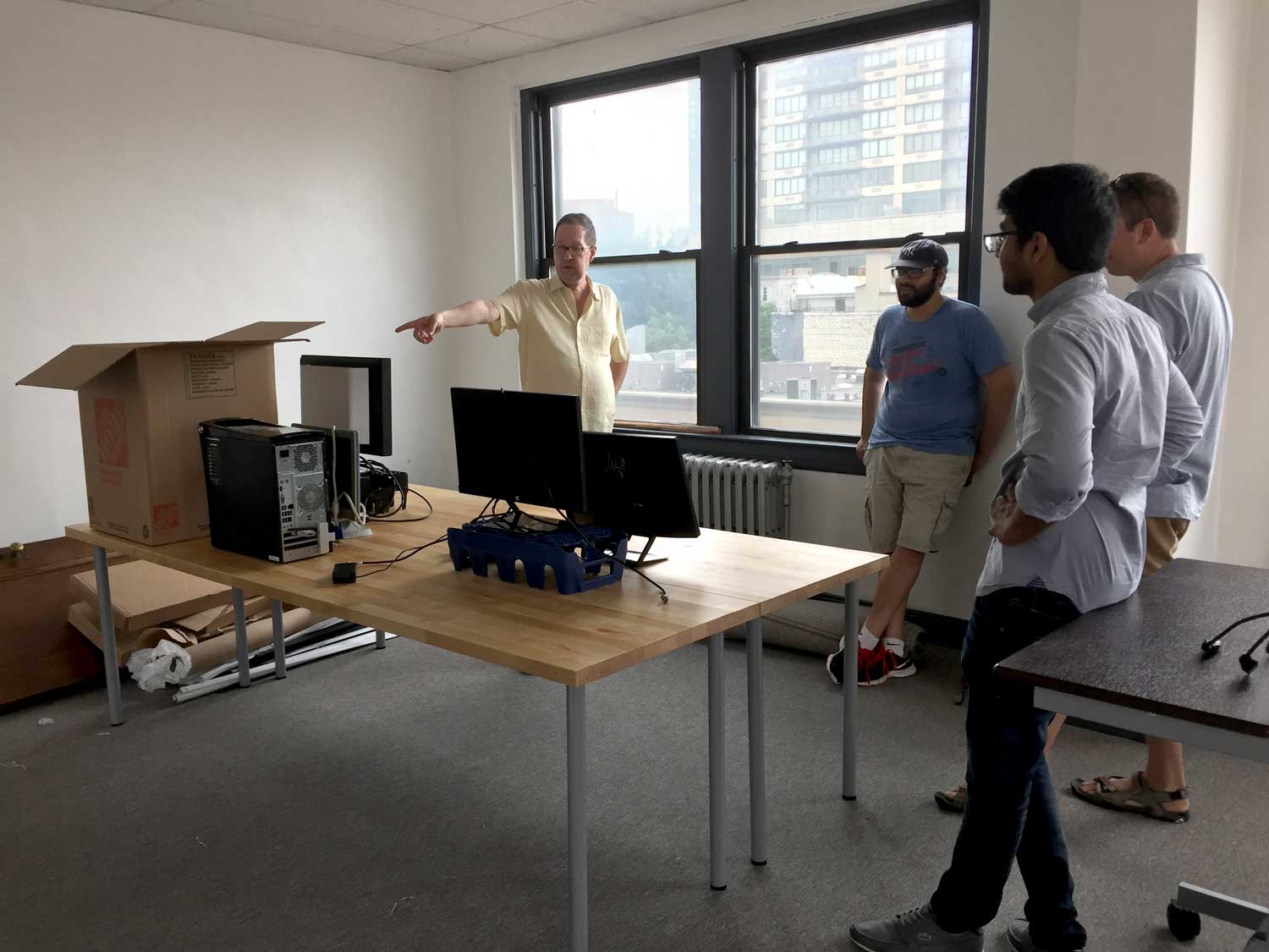 Juggling the pieces of a new office can be challenging