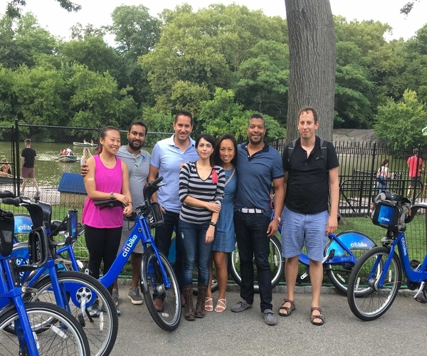 Riding Bikes in Central Park