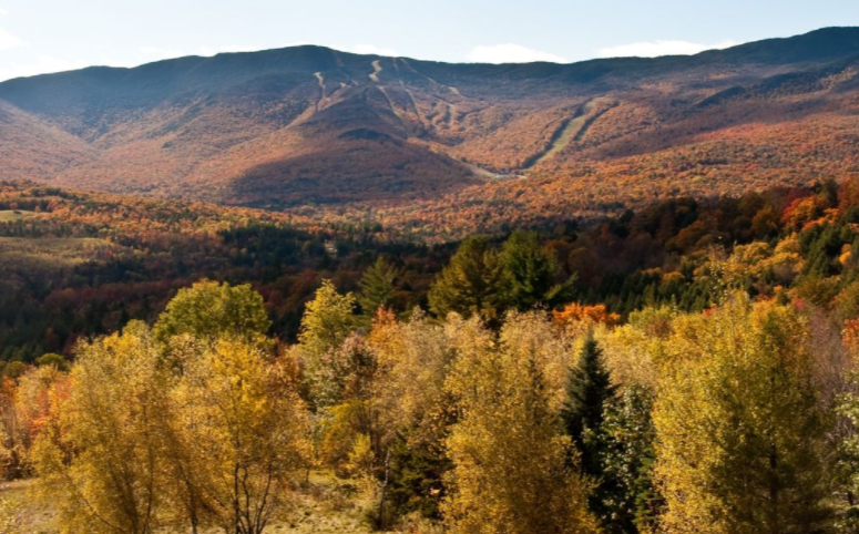 Vermont in Fall Offers Spectacular Views