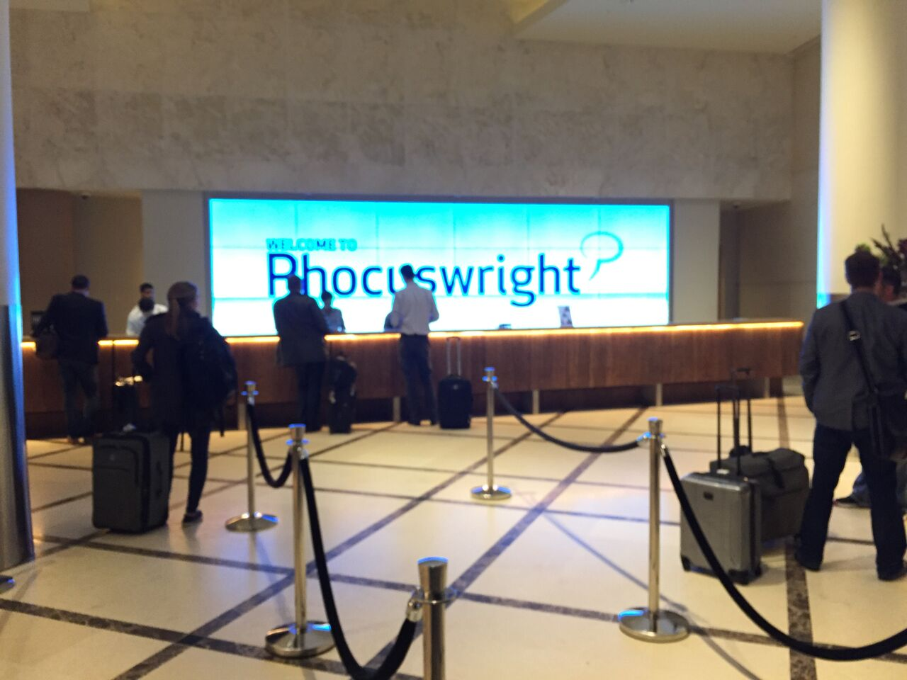 Phocuswright Conference -- Day 1