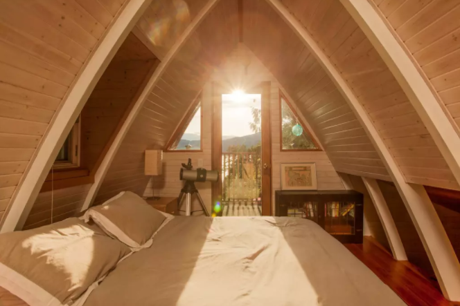 Canada AFrame Cabin Alternative Airbnb Accommodations Futurestay