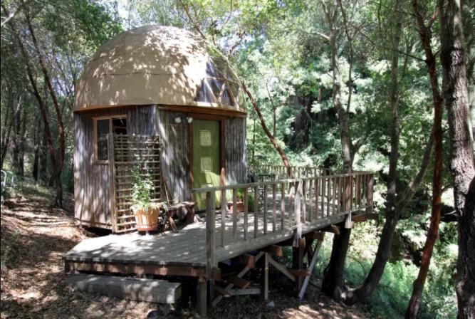 7 Alternative Accommodations Mushroom Dome Cabin California Futurestay