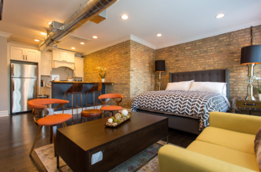 Chicago Loft Urban Accommodations Airbnb by Futurestay
