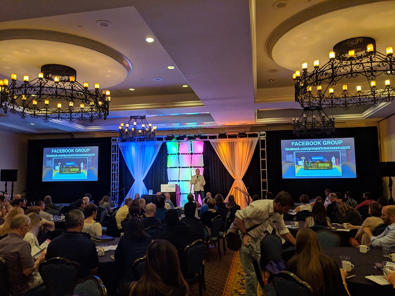 VRSS 2018 Keynote Stage