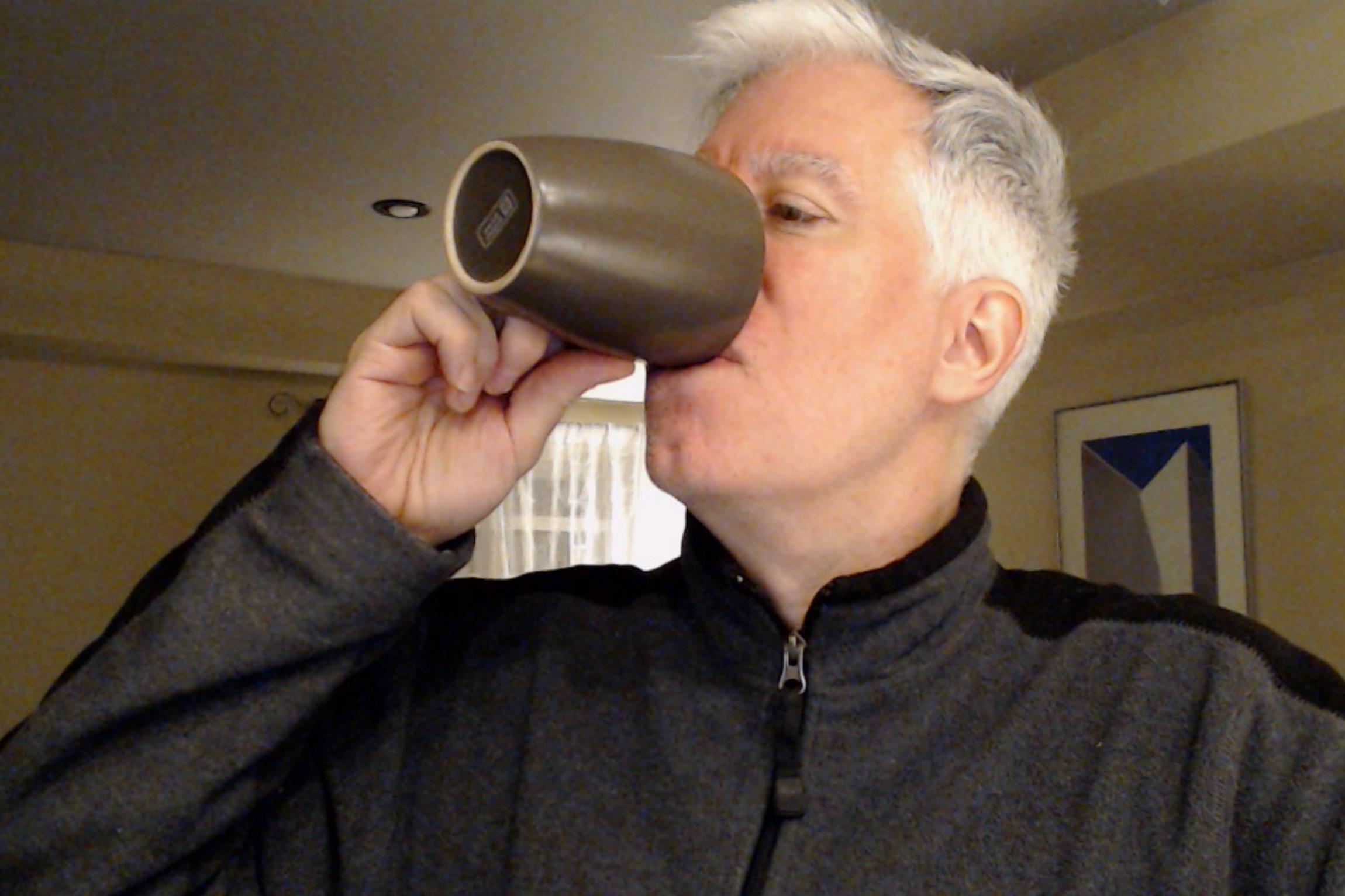 Dan loves coffee.