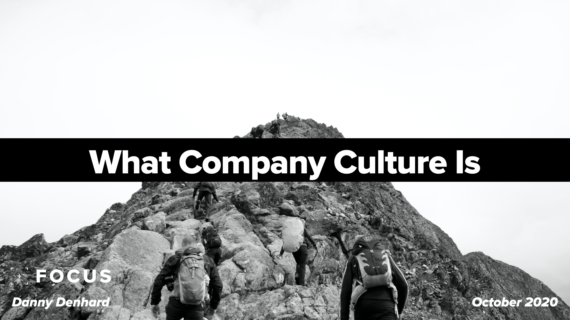 What company culture is
