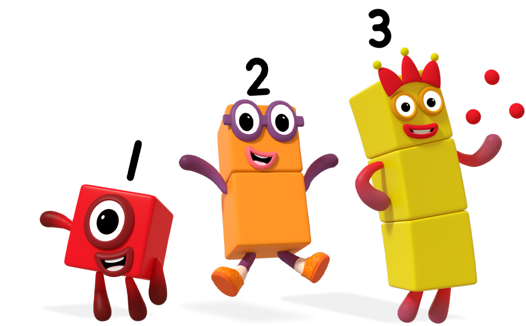 Numberblocks jumping