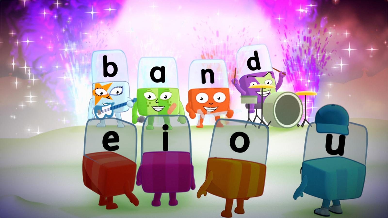 Alphablocks band