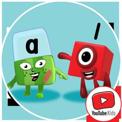 Alphablocks and Numberblocks Youtube