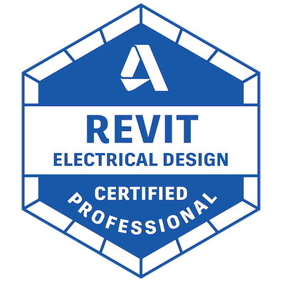 Revit Electrical Design Certified Professional