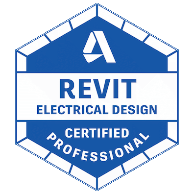 autodesk certified professional in revit for electrical design