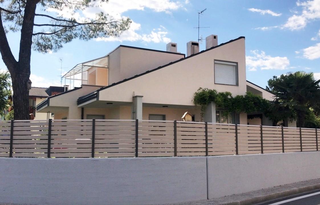 nordic recinzione pvc alluminio belluno