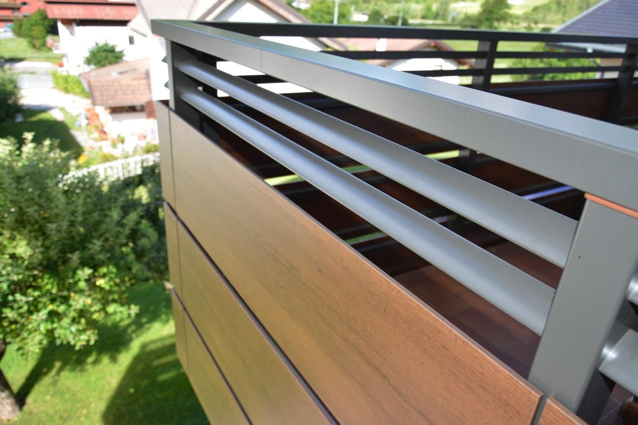 nordic balaustra design pvc alluminio