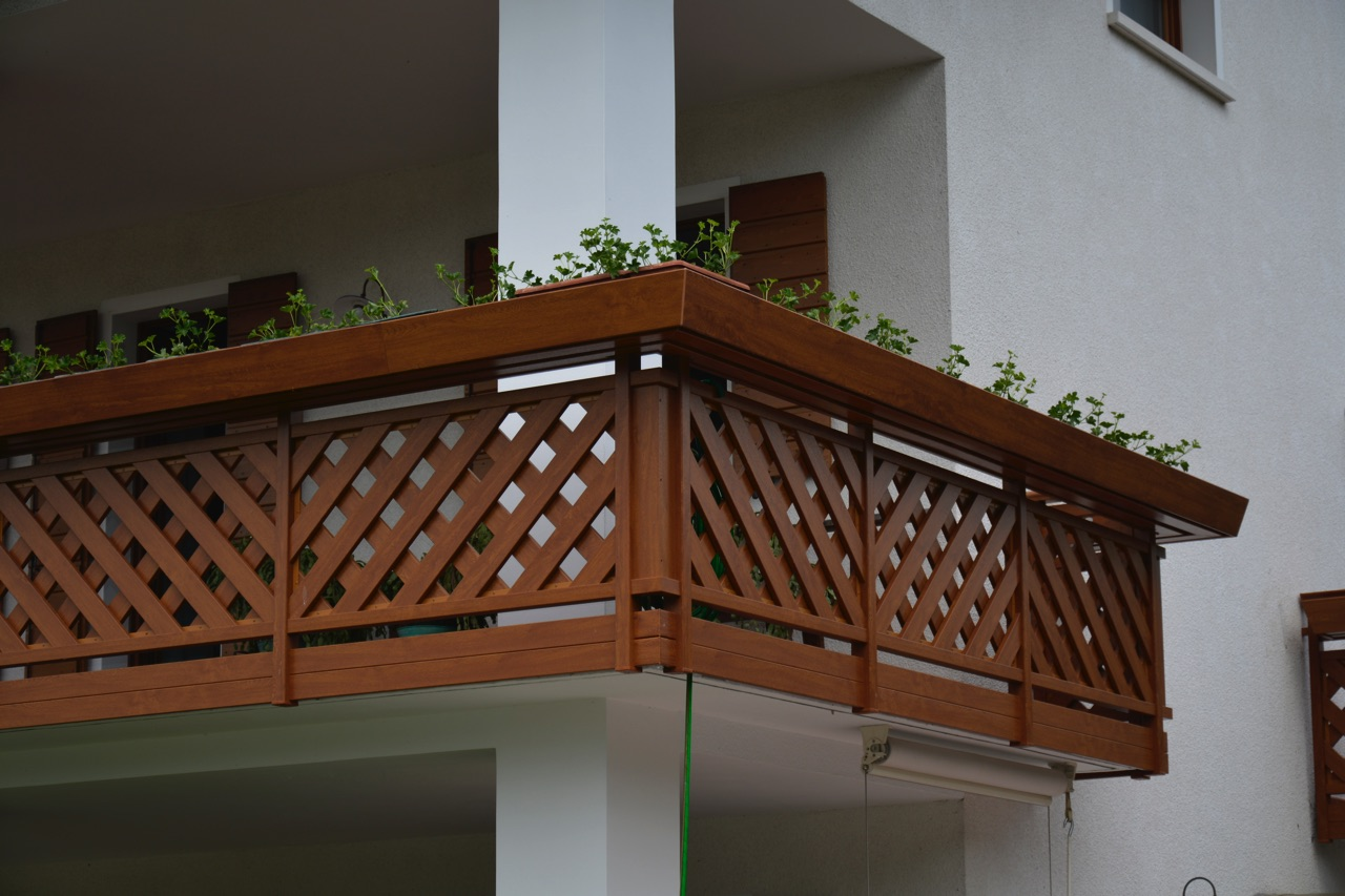 balaustra terrazzo pordenone udine