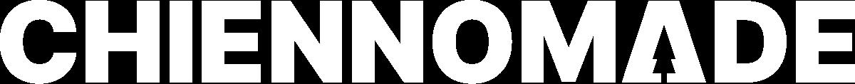 Logo blanc de Chien Nomade
