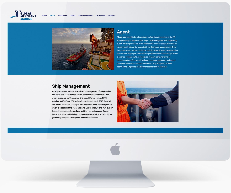 Black Rooster Digital Global Merchant Marine