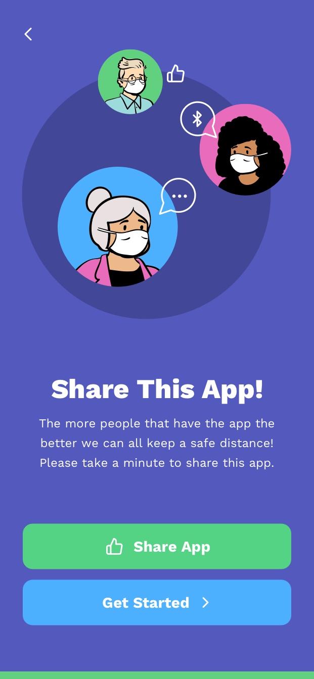 app screen - onboarding