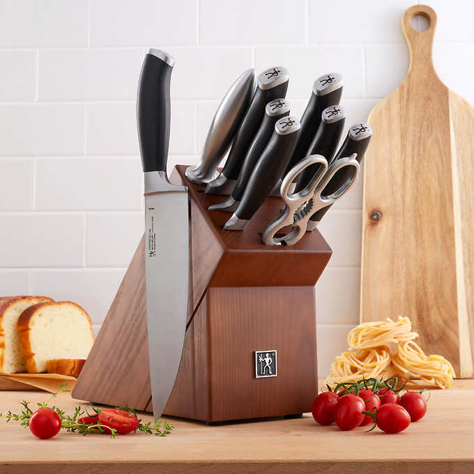 Photo via J.A. Henckels Elan Series Knife Set, 10-piece