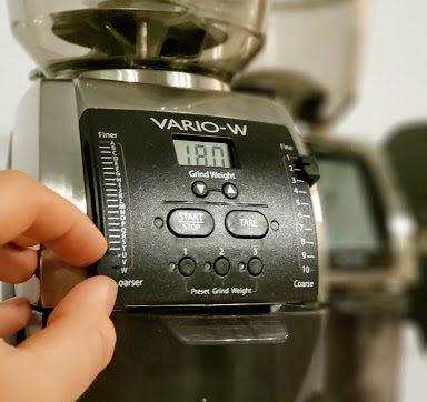 Baratza Vario-w electric burr grinder - Cottonwood Coffee