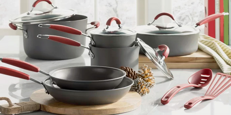 Rachel Ray pots and pans via BestAdvisor.