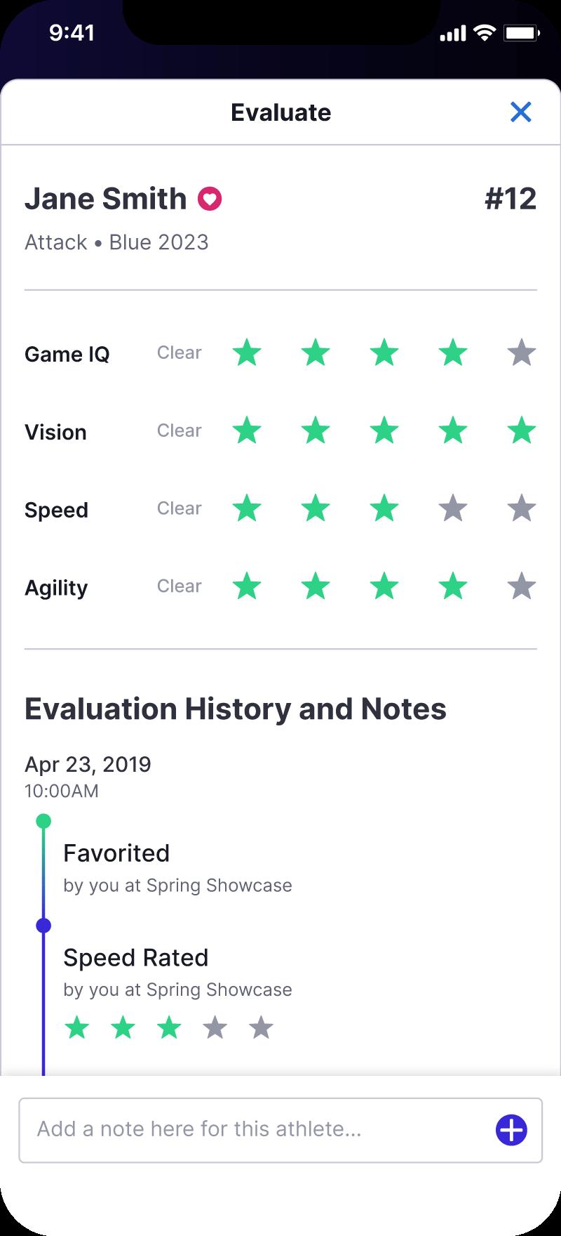 Evaluation Mode