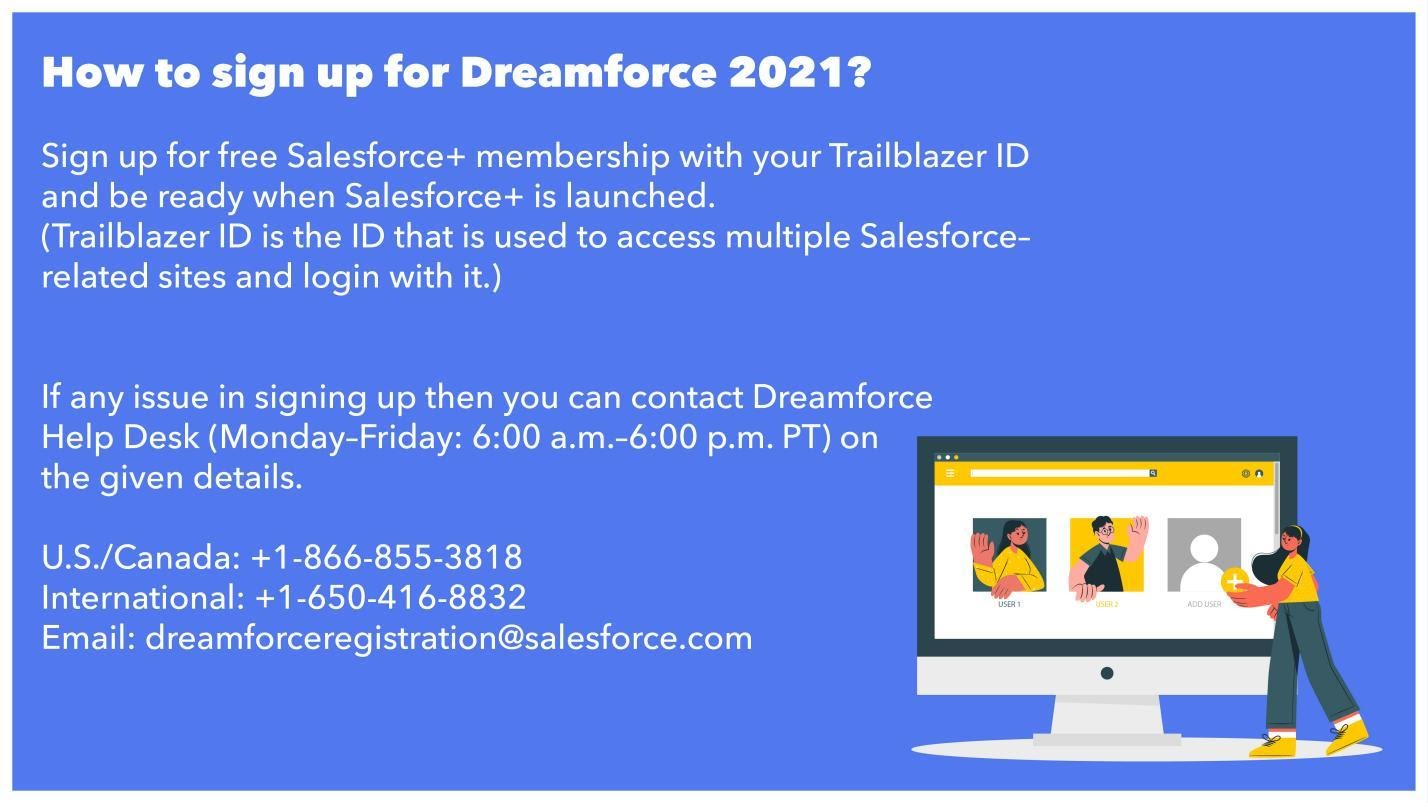 3 signup for Dreamforce