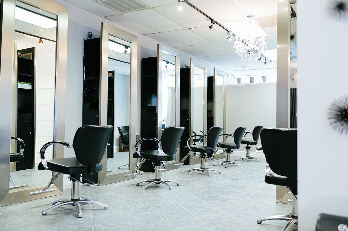 Our South Shore location provides a relaxed setting in the Michael Albor studio with his stylists.