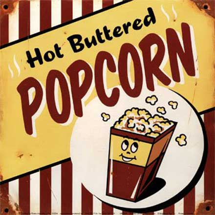 Hot Buttered Popcorn