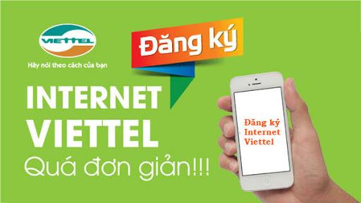 Thủ tục hòa mạng internet Viettel