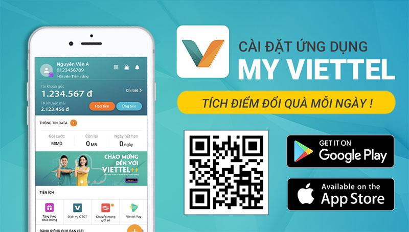 Báo hỏng wifi Viettel qua ứng dụng My Viettel