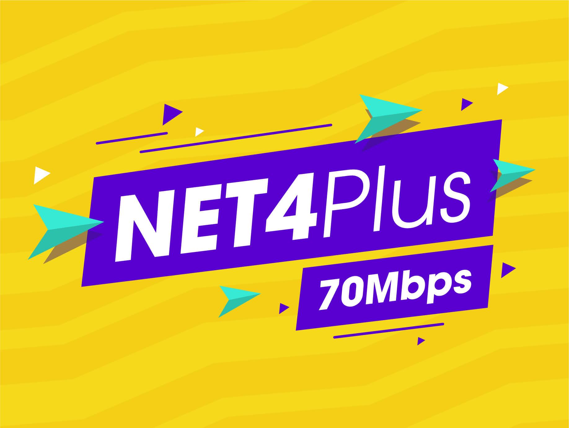 internet cáp quang Viettel NET 4 PLUS