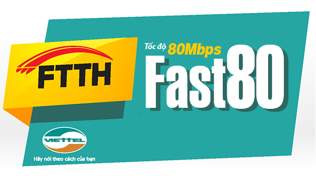 lắp đặt gói cước internet Viettel FAST 80