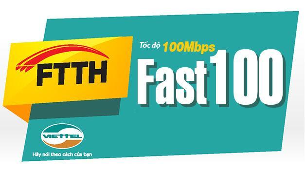 Gói Cáp Quang Viettel Fast 100