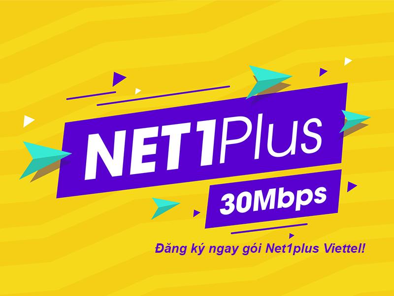 Net 1 Plus Viettel | Gói cáp quang giá rẻ nhất năm 2020
