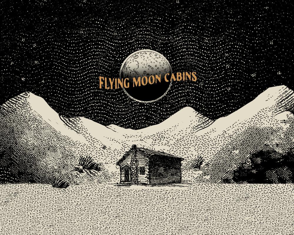 Flying Moon Cabins Illustration